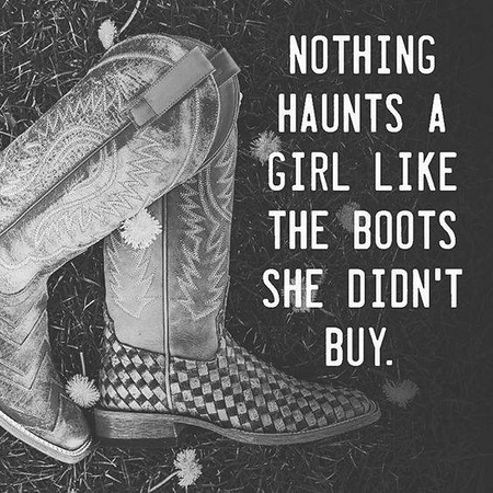 boots not bought