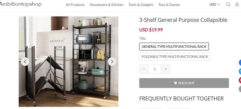 chinese shelf