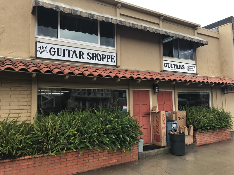 The Guitar Shoppe, Laguna Beach