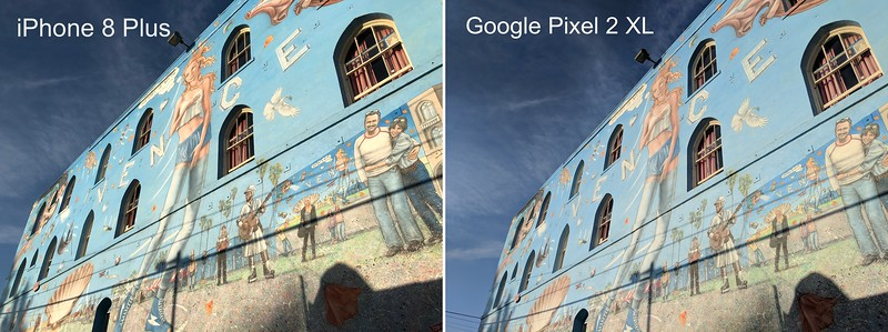 Pixel 2 XL vs. iPhone 8 Plus