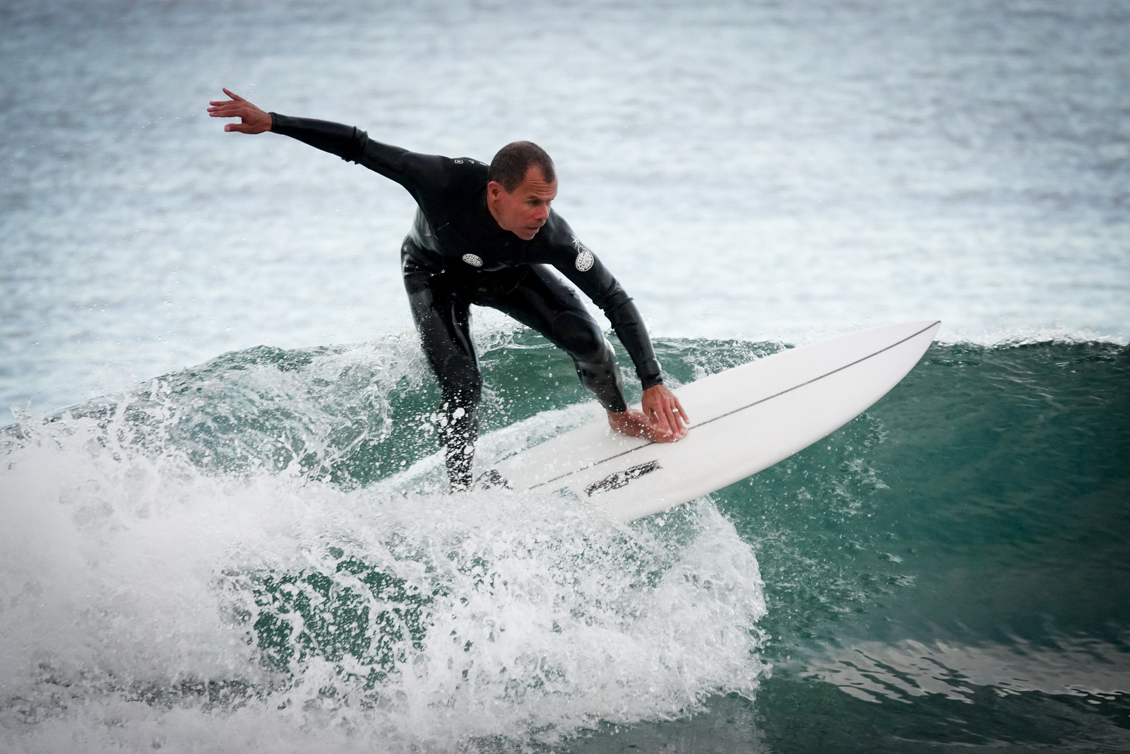 Surfer caught in action on Sony RX10IV