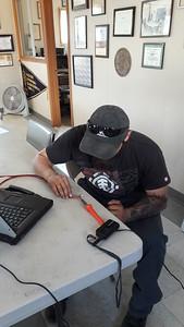 Ricardo solders connections