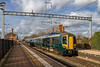 12th Feb 2018:  Got every thing right with this I think .  The wires are a pain  but they will not go away.  387155 with 2P52 the 14.03 from Didcot Parkway to Paddington leaves Cholsey.
