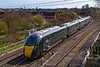 5th Apr 2018:  Coming off the East Chord at Didcot Northis 800034 working as 1W29 the 14.21 Paddington to Worcester Foregate Street