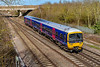 5th Apr 2018: 165131 is acting as one of the sets that are allocated to work the Didcot Oxford shuttle service.  2L43 is at Didcot North Junction with the 15.07 from Oxford