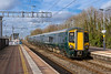 12th Feb 2018:  My first picture of a Class 387 electric unit on the newly electrified section of the GWR  is of 387143 arriving at Cholsey.  2P50 started at 13.32 and should complete the journey to Paddington at 15.00