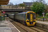 17th Mar 2018: Today 1F12 the 10.10 from southmqpton to Cardiff Central started from Salisbury.  In the hands of 158056  it is captured at id runs into Bradford on Avon station