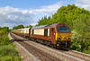 26th May 2021:  The British Pullman in the hands of 67024 is pictured on the climb to Upton Scudamore from the platform at Dilton Marsh Halt.  1O92 is the return leg of the trip from London Victoris to Bath Spa. The only shot of the day that I managed to get in full sun.