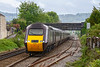 14th May 2021:  With most of the IETs out of use subsitute service and hired in trains are required. About to run through Oldfield Park in Bath is 1Z17 the 11.52 from Swindon to Bristol Temple Meads in the hands of  a Cross Country hired in HST.  Power car 43239 is at the front and 43303 is at the other end.   Very crap light unfortunatley as this was the only opportunity that I had  to picture these services today.