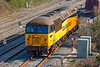 18th Apr 2021:  Colas 56096 is standing near the signal box at Westbury, By lunch time it went  light engine to Eastleigh. My first picture of this one in the sun..