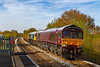 23rd Apr 2021:  6O31 is the afternoon departmental from Westbury to Eastleigh, not a runner every day but often worth the effort to geta shot.  Two stars today 66743 'Royal Scotsman' and 66789 'British Rail 12947-1959' are not being taxed by only 4 waggons. up the 1 in 70 through Dilton Marsh.