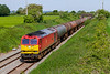 1st Jun 201§:  60019b is in charge of 6B33 the empty Puma oil tanks from Theale to Robeston nearing Edington.