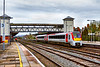 9th Apr 2021:  Leaving Platform 2 at Hereford is 175005 as it works 1V46 the 11.31 from Manchester Piccadilly to Milford Haven.