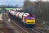 8th Dec 2020:  Powering away from Hawkeridge junction is 60039 with 6B33 the empty tanks from Theale to Robeston.  Just visible in the background is an IET  near Heywood Junction. that is working the 13.14 from Plymouth to Paddington
