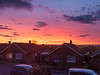 24th Apr 2016:  Westbury Sunset from the bedroom window