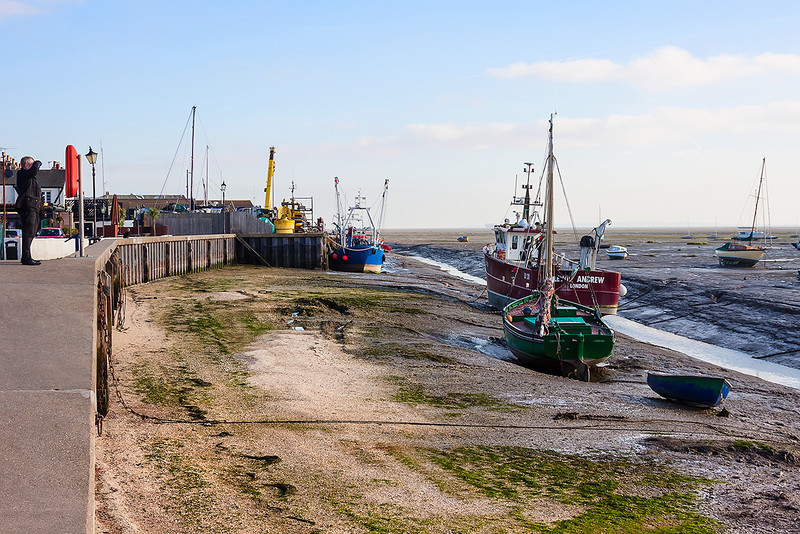 7th Nov 12:  Fishing boats at  Leigh on Sea.  The green boat was built in 1928 and was one of the 'Small Ships' that rescued the British Army from Dunkirk in May/June 1940 during WW2