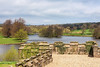 5th May 13:  The lake at Ripley Castle