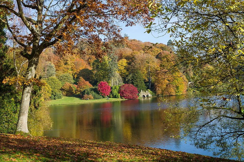31st October 2016:  Stourhead at it's best