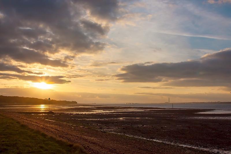 19th Nov 12:  Solent Sunrise
