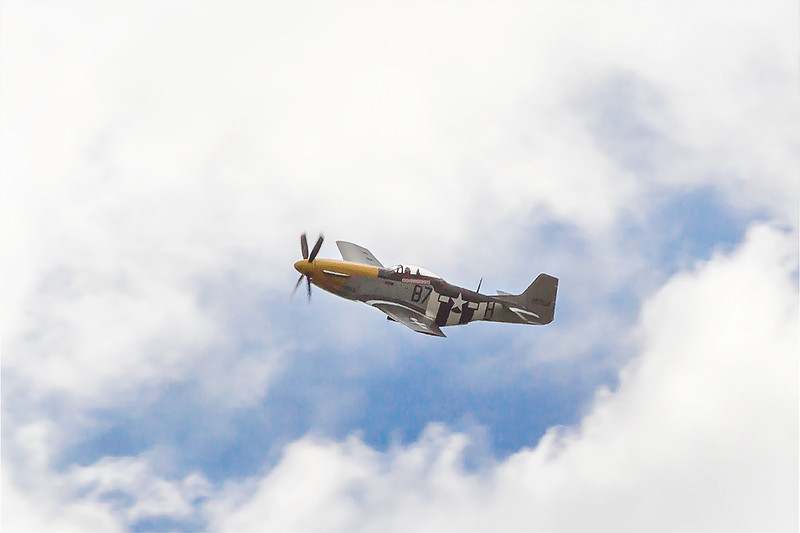 15th Aug 2015:  P51D Mustang at the Eastbourne Airshow