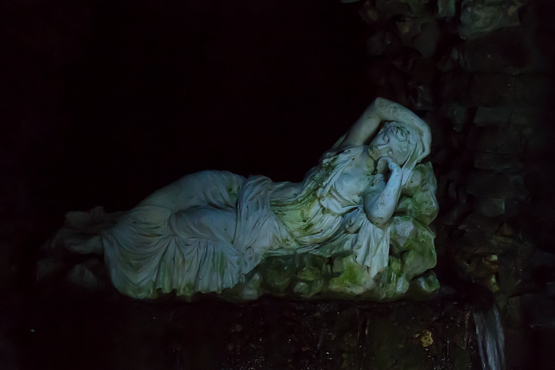 31st Oct 2016: In the Grotto at Stourhead Gardens.  No flash used, picture taken at  1/10sec  @ f8, iso 6400
