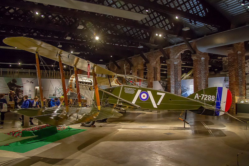 13th Nov 2018:  A very famous and successful World War 1 fighter was the Bristol f2B,  Starting in September 1916 a total of 5529 were built.  It had a crew of 2, a pilot and an observer/gunner