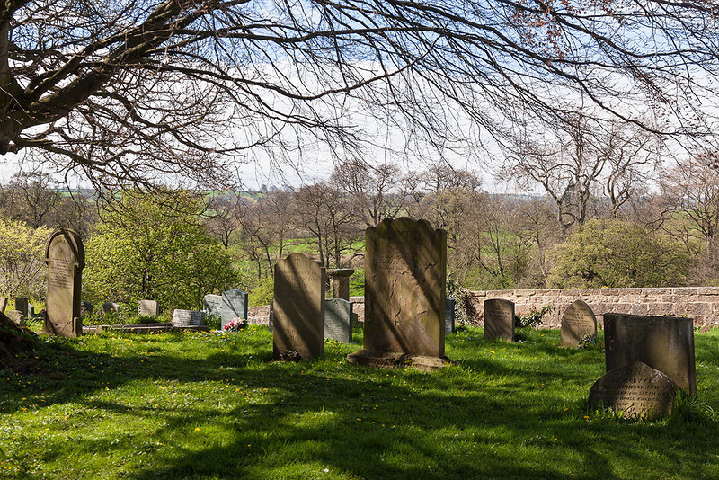 5th May 13:  The churchyard of All Saints in Ripley, North Yorkshire