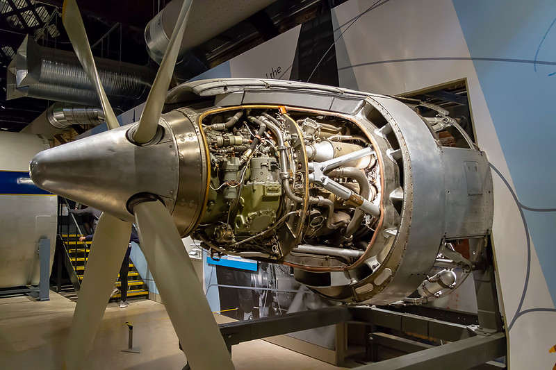 13th Nov 2018:  A Bristol Proteus engine used to power the Bristol Britania airliner otherwise known at the 'Whisperting Giant'