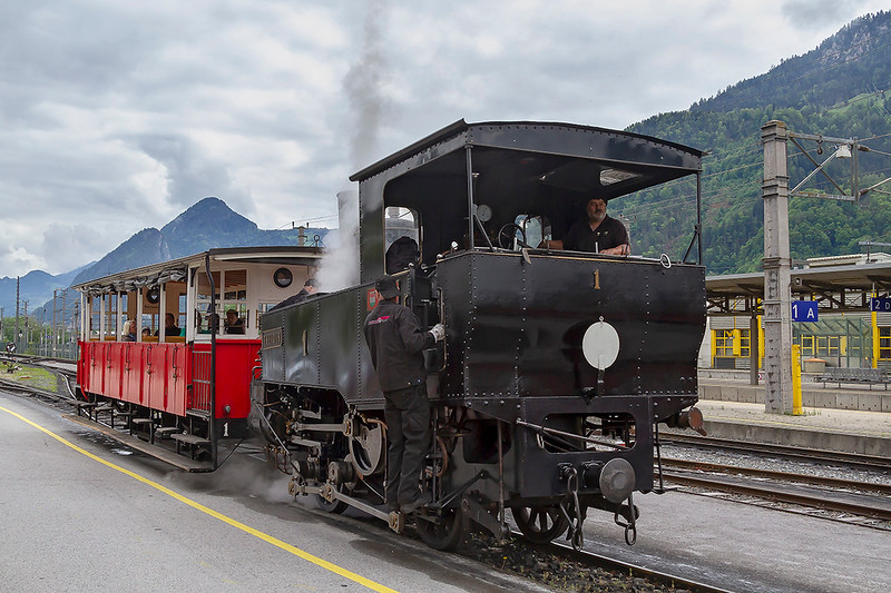 26th May 2019:  Achensee Cog Railway