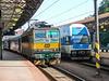 TC-160907-02-163 062-03 + Elefant  local set 971 072-4 in Prague station