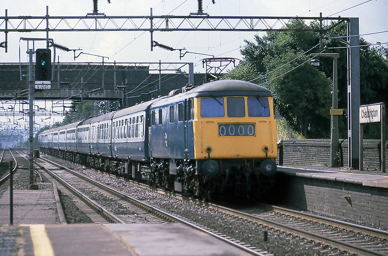 10th Aug 81:  83012 with the 10.15 Euston to Stranraer at Cheddington