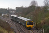 28th Dec 2018:  With trains to Weymouth and Portsmouth having to terminate at Trowbridge the stock travels to Heywood Road Junction where it can cross to the other line to return to it's starting point.   At Hawkeridge Junction 165131 is working 5F12 back to Trowbridge where it will become 1F12 to Bristol Parkway