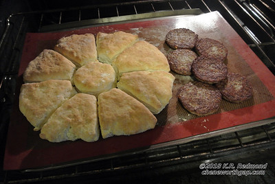 Biscuits and Breakfast Sausage