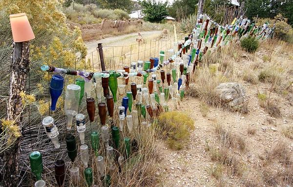 Bottle Fence.