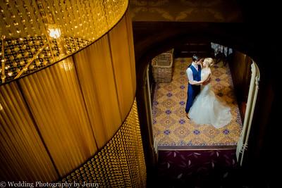 winter wedding at hampton manor.