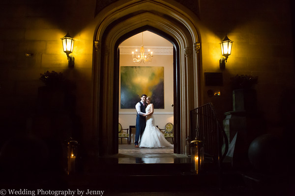 winter wedding at hampton manor.