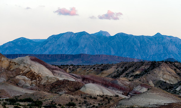 Purple Mountains Majesty: sunset in Big Bend