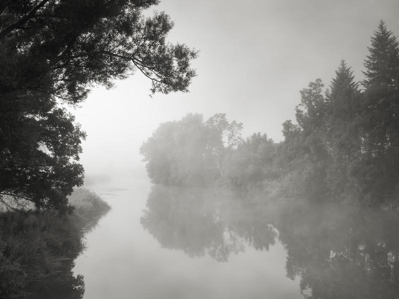 Morgennebel an der Wörnitz - Plate 1