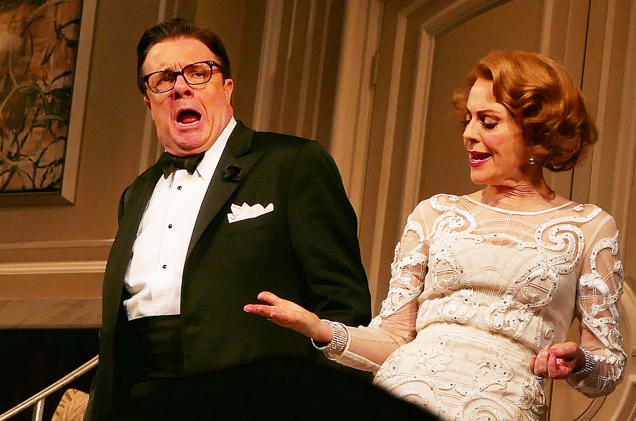 NATHAN LANE and MEGAN MULALLY