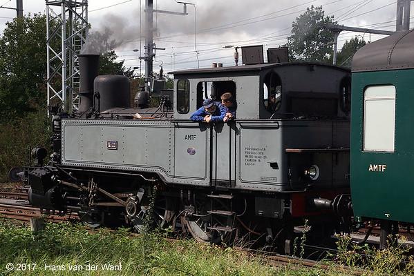 """Pétange (L) """"Train 1900"""" (10 sept 2017)."""