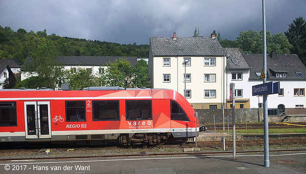 On the way home: Gerolstein (D), 11 sept 2017