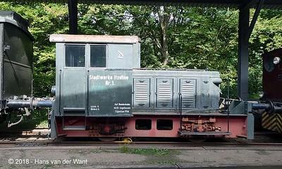 Eisenbahnmuseum Lokschuppen Aumühle.