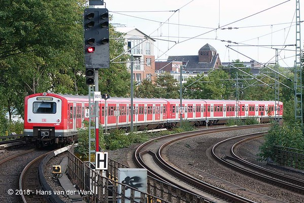 S-bahn Hamburg.