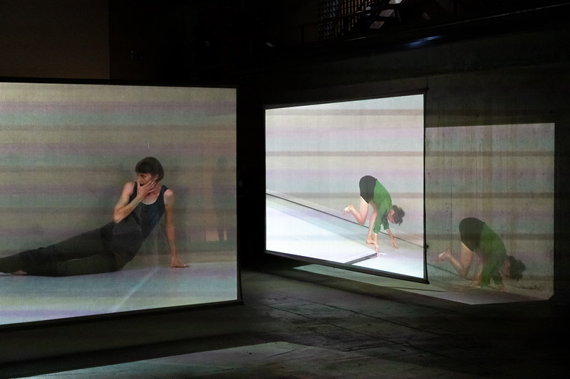 "Video installation ""Perception Unfolds"" - Deborah Hay - Tanz im August, Berlin"