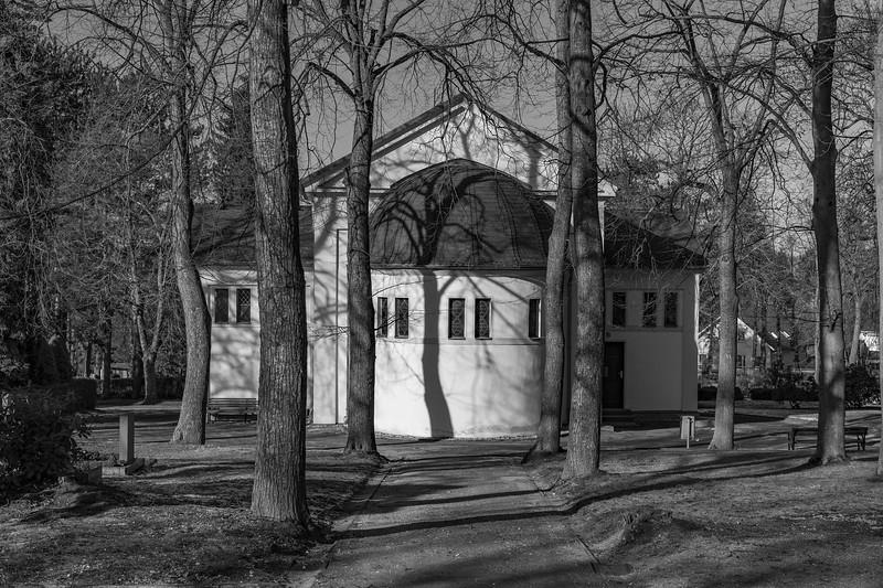 Friedhof Winter Sonne