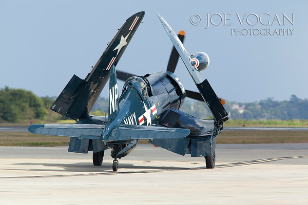 Vought F4U-5NL Corsair, Jacksonville Naval Air Station Air Show, Florida