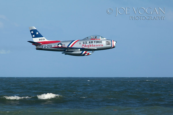 F-86 Sabre Transonic Jet Fighter, Jacksonville Airshow, Florida