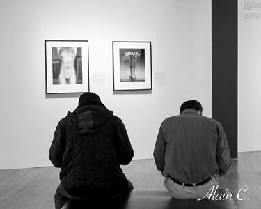 Amis au musée
