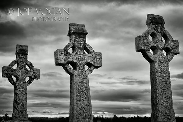 Clonmacnoise Monastery, County Offaly, Ireland