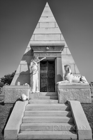Pyramid Tomb, Metairie Cemetery, New Orleans, Louisiana